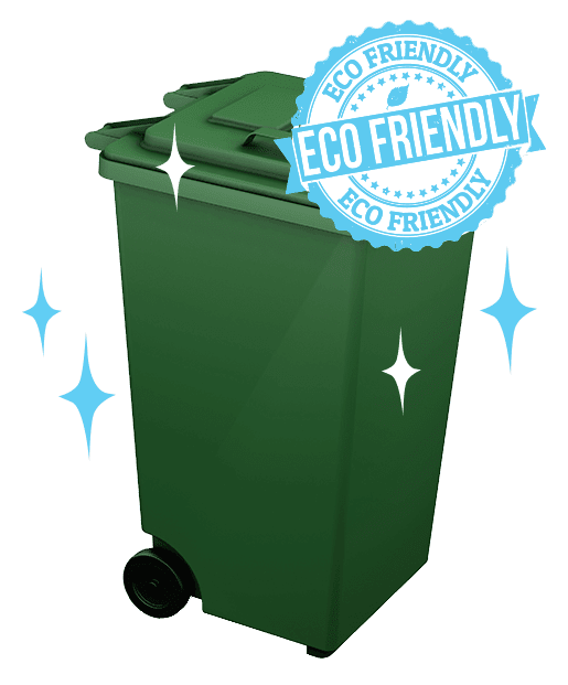 garbage wheelie bin cleaning